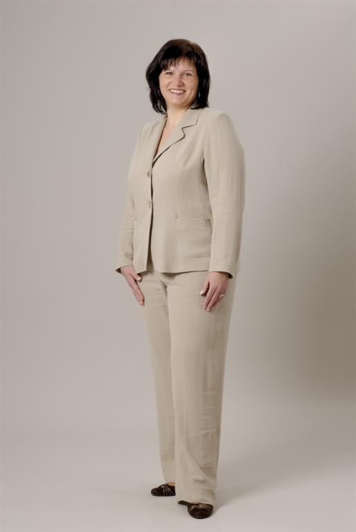 a564e919481 08. Dámské sako z přírodního mat. - gala móda - xxl oděvy - nadměrné ...